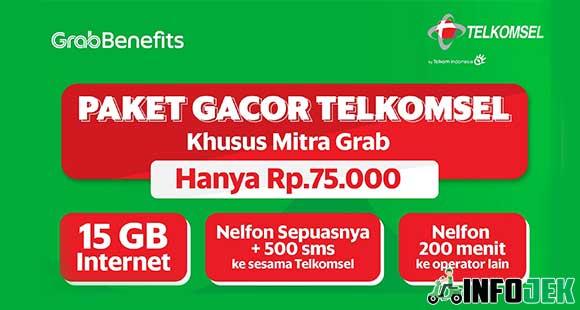 Paket Gacor Telkomsel Grab