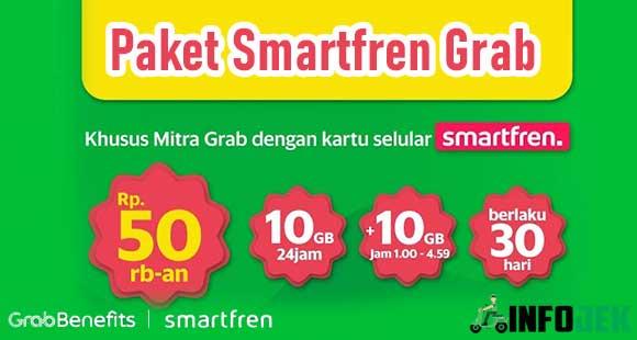 Paket Smartfren Grab