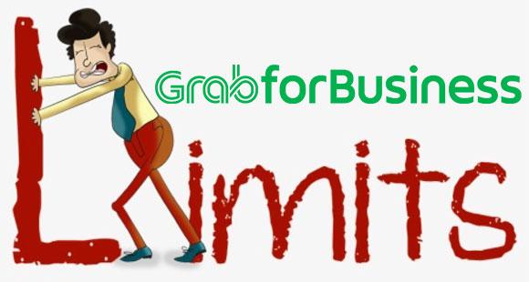 Pilihan Pengaturan Limit Grab For Business