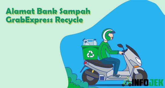 Alamat Kantor Bank Sampah GrabExpress Recycle