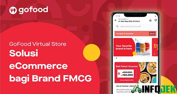 Fitur Keuntungan Cara Kerja GoFood Virtual Store
