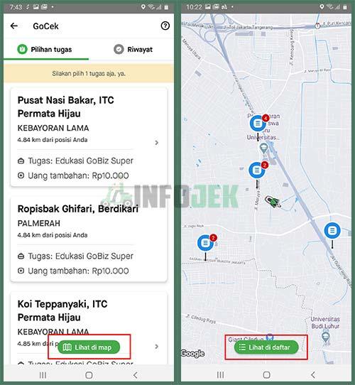 Lihat di Map Lihat di Daftar