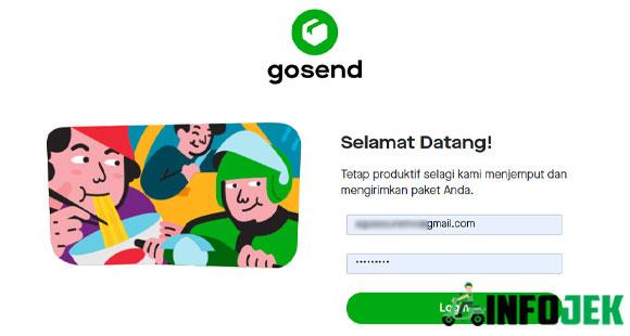 Syarat dan Cara Daftar GoSend Web Portal