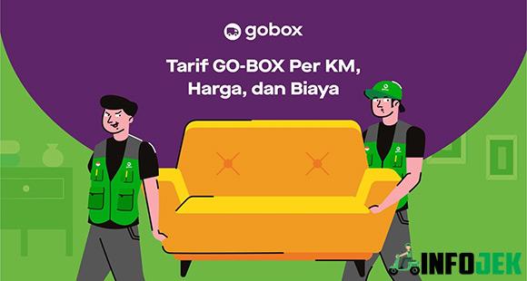 Tarif GoBox Per KM dari Biaya Harga dan Asuransi