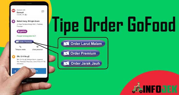Tipe Order GoFood