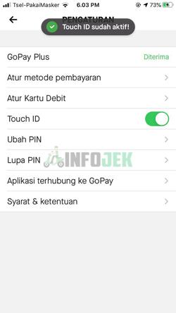 Touch ID Pun Telah Aktif