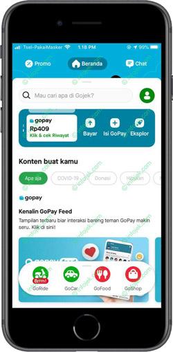 1 Buka Aplikasi Gojek Versi Terbaru dan Pilih Menu Eksplor