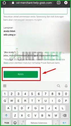 6 Tap Tombol Kirim untuk Mengirimkan Permintaan Gabung