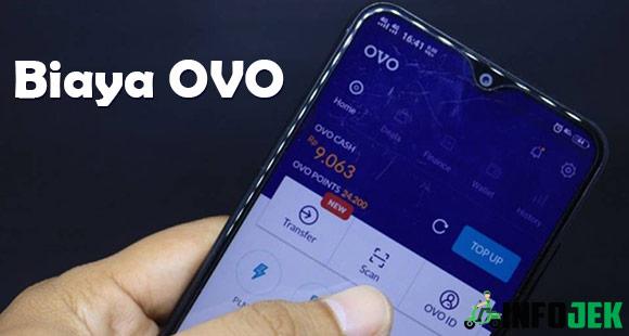 Biaya OVO Terbaru dari Transfer Tarik Tunai dan Top Up