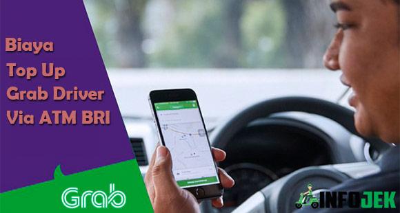 Biaya Top Up Grab Driver Lewat ATM BRI