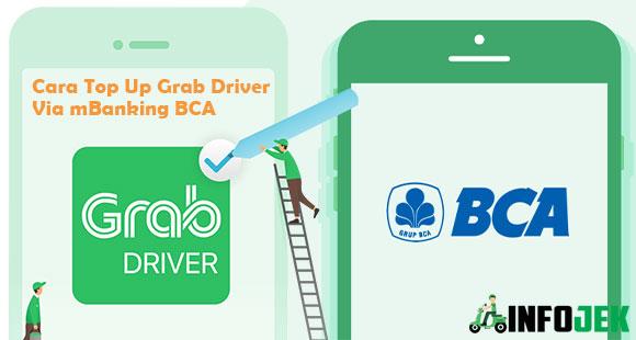 Cara Top Up Grab Driver via m Banking BCA Terbaru