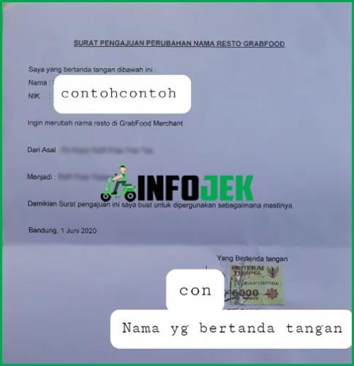 Contoh Surat Pengajuan Perubahan Nama