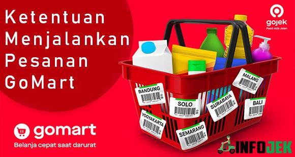 Ketentuan Menjalankan Pesanan GoMart Bagi Merchant