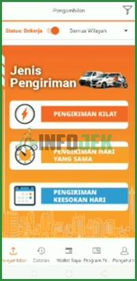 2 Buka Aplikasi Lalamove Driver