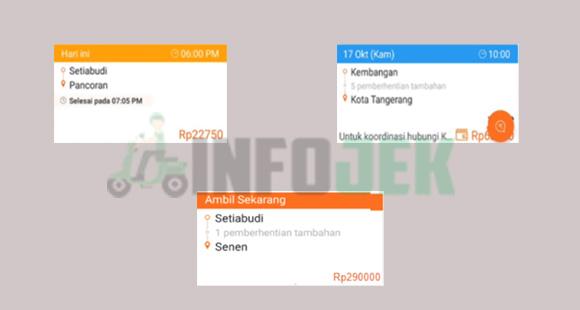 Arti Warna Order Masuk Aplikasi Lalamove Driver