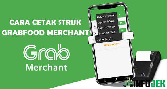 Cara Cetak Struk GrabFood Merchant di Printer Thermal Bluetooth