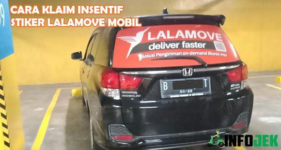 Cara Klaim Insentif Stiker Lalamove Mobile Bulanan