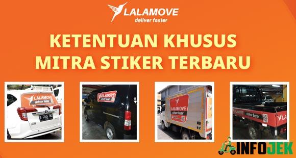 Ketentuan Klaim Stiker Lalamove