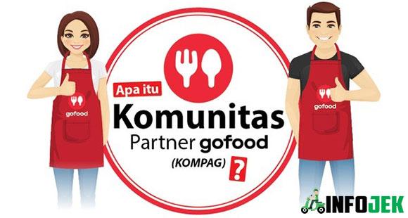 Mengenal Apa Itu KOMPAG atau Komunitas Partner GoFood