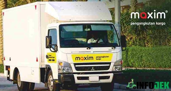 Tarif Maxim Kargo Per KM Dalam dan Antar Kota Terbaru