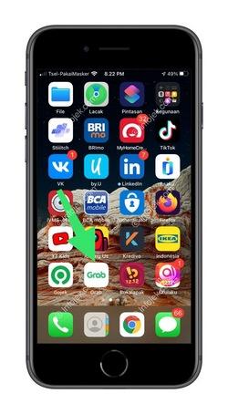 1 Buka Aplikasi Grab