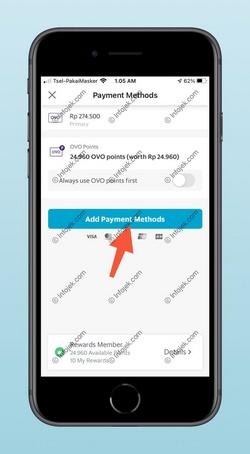3 Pilih Add Payment Methods