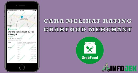 Cara Melihat Rating Grabfood Merchant Terbaru