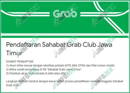 Program Sahabat Grab Club Pro Plus Manfaat Cara Daftar Infojek
