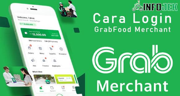 Cara Login GrabFood Merchant Versi Terbaru