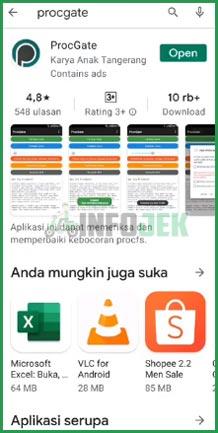 Download dan Instal ProcGate