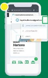 Pilih Menu Connect Account Grab to App