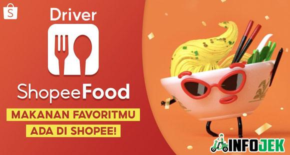 Syarat dan Cara Dafar Driver Shopee Food Terbaru