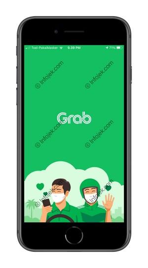 1 Buka Aplikasi Grab 2
