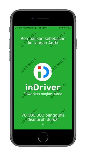 1 Buka Aplikasi InDriver