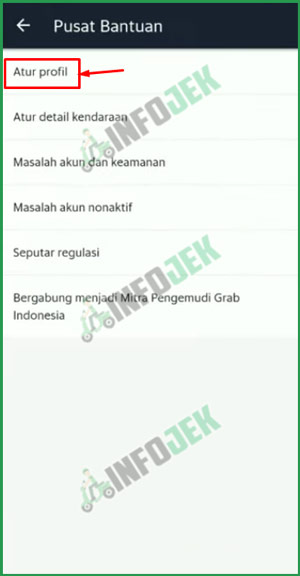 5 Pilih Atur Profil