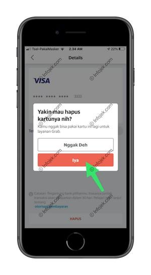 6 Konfirmasi Penghapusan Kartu Kredit