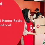 Cara Ganti Nama Resto di GoFood Terbaru