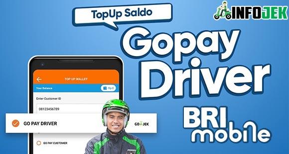 Cara Top Up Gojek Driver Lewat Brimo Terbaru