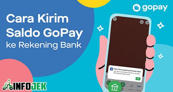 Kirim GoPay ke Rekening Bank Kalian