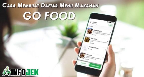 Tutorial Cara Membuat Daftar Menu Makanan Go Food