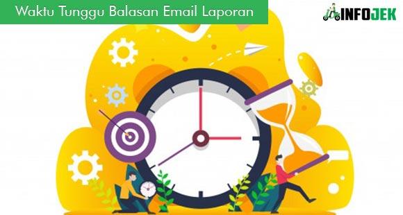 Waktu Tunggu Balasan Email Laporan Rating Gofood