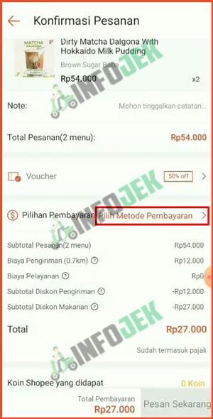 10 Pilih Metode Pembayaran