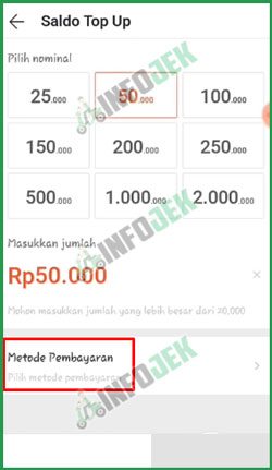 4 Pilih Metode Pembayaran