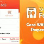 Cara Withdraw ShopeeFood Tarik Tunai Saldo Driver