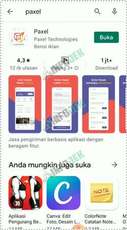 1 Download Aplikasi Paxel