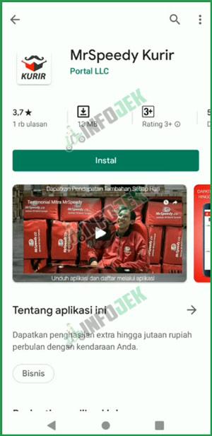 1 Download MrSpeedy Kurir