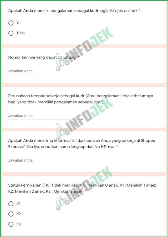 11 Lengkapi Informasi Tambahan