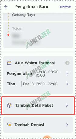 15 Tambah Detail Paket
