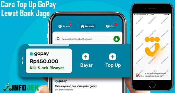 Cara Top Up GoPay Lewat Bank Jago dari Biaya Minimal