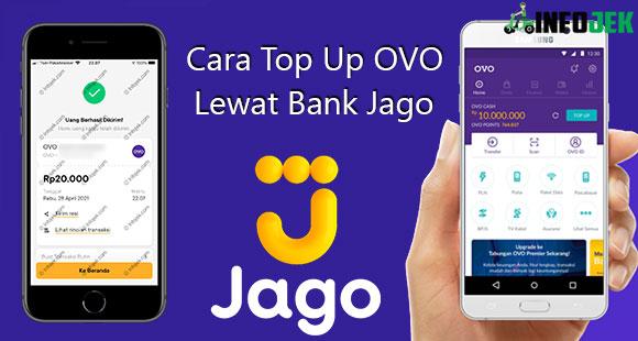 Cara Top Up OVO lewat Bank Jago dari Biaya dan Minimal